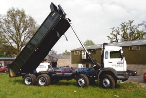 Tippers and Land Restoration