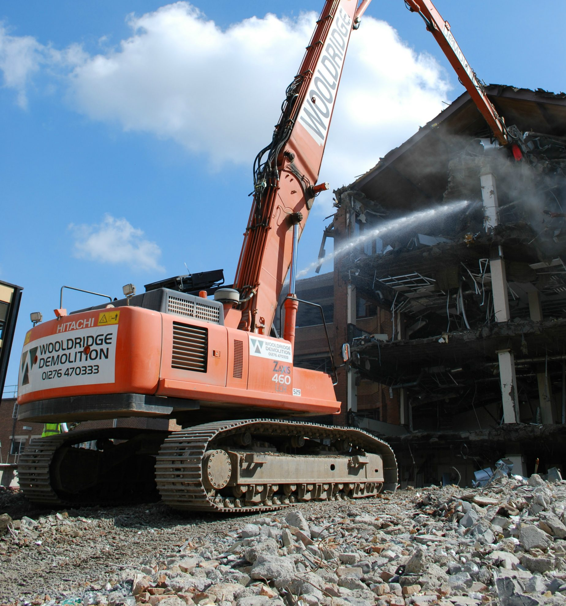 Sell An Office Building For Recycle And Demo