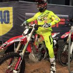 Mathew Bayliss at Arenacross Championships